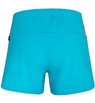 Salewa Pedroc 2 DST - pantaloni corti trail running - donna, Light Blue
