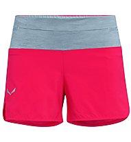 Salewa Pedroc 2 DST - pantaloni corti trail running - donna, Pink