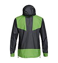 Salewa Pedroc 2 GTX Act - giacca in GORE-TEX - uomo, Black/Green