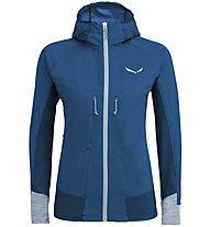 Salewa Pedroc 2 Sw/Dst - Softshelljacke Bergsport - Damen, Blue