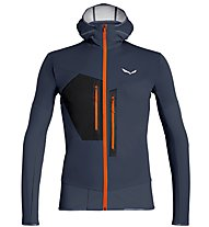 Salewa Pedroc 2 - Softshelljacke mit Kapuze - Herren, Dark Blue/Orange