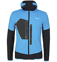 Salewa Pedroc 2 - Softshelljacke mit Kapuze - Herren, Light Blue/Black