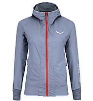 Salewa Pedroc 2 Sw/Dst - giacca softshell - donna, Grey/Red
