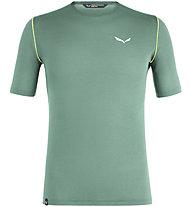 Salewa Pedroc 3 Dry M S/S Tee - T-Shirt Bergsport - Herren, Green