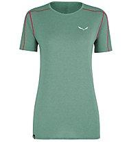 Salewa Pedroc 3 Dry - T-shirt - donna, Green