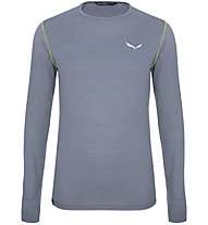 Salewa Pedroc Alpine Wool - maglia a maniche lunghe - uomo, Grey