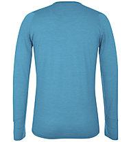 Salewa Pedroc Alpine Wool - maglia a maniche lunghe - uomo, Light Blue