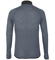Salewa Pedroc Alpine Wool - felpa in pile - uomo, Grey/Black/Green