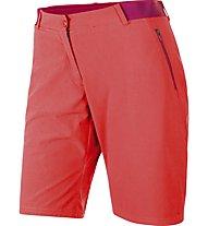 Salewa Pedroc Bermuda DST W Shorts Damen Wanderhose kurz, Hot Coral