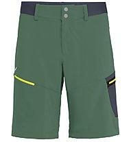 Salewa Pedroc Cargo 2 DST - pantaloni corti trekking - uomo, Green