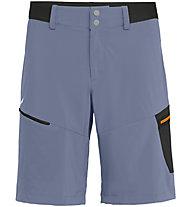 Salewa Pedroc Cargo 2 DST - pantaloni corti trekking - uomo, Grey/Black/Orange