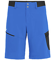 Salewa Pedroc Cargo 2 DST - pantaloni corti trekking - uomo, Light Blue/Black