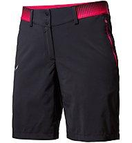 Salewa Pedroc Cargo 2 DST - pantaloni corti trekking - donna, Black