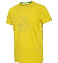 Salewa Pedroc DRY T-Shirt, Yellow