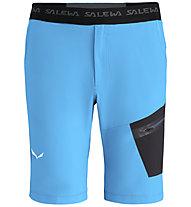 Salewa Pedroc DST - pantaloni corti - uomo, Light Blue/Black