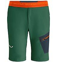 Salewa Pedroc Dst - kurze Berghose - Herren, Green/Orange
