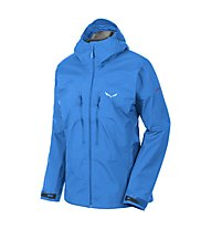 Salewa Pedroc GORE-TEX Active Damen Wanderjacke mit Kapuze, Royal Blue