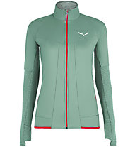 Salewa Pedroc Hyb 2 Ptc Alpha - Hybridjacke - Damen, Green/Red