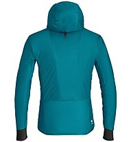 Salewa Pedroc Hybrid Twc M Hood - giacca ibrida - uomo, Light Blue/Yellow