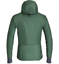 Salewa Pedroc Hybrid Twc M Hood - giacca ibrida - uomo, Green/Orange