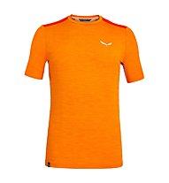 Salewa Pedroc Hybrid 2 Dry - T-shirt da montagna - uomo, Orange