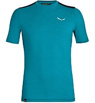 Salewa Pedroc Hybrid 2 Dry - T-shirt da montagna - uomo, Light Blue