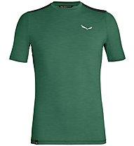 Salewa Pedroc Hybrid 2 Dry - T-shirt da montagna - uomo, Green