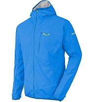 Salewa Pedroc Hybrid 2 DST/PTX - giacca a vento trekking - uomo, Light Blue