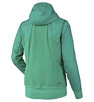 Salewa Pedroc Hybrid Alpha 2/1 - giacca ibrida - donna, Green