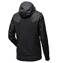 Salewa Pedroc Hybrid Alpha 2/1 - giacca ibrida - donna, Black