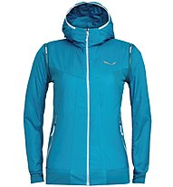 Salewa Pedroc Hybrid Alpha 2/1 - giacca ibrida - donna, Light Blue