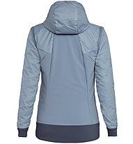 Salewa Pedroc Hybrid Alpha 2/1 - giacca ibrida - donna, Grey