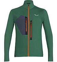 Salewa Pedroc Hybrid - Hybridjacke Trekking - Herren, Green/Orange