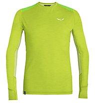 Salewa Pedroc Hybrid Dry - maglia a manica lunga - uomo, Light Green
