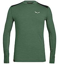 Salewa Pedroc Hybrid Dry - maglia a manica lunga - uomo, Dark Green