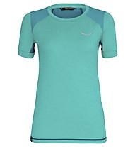 Salewa Pedroc Hybrid Dry - T-Shirt Bergsport - Damen, Light Blue/Blue