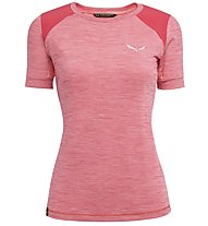 Salewa Pedroc Hybrid Dry - t-shirt sport di montagna - donna, Red