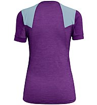 Salewa Pedroc Hybrid Dry - T-Shirt Bergsport - Damen, Violet/Light Blue
