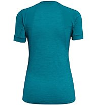 Salewa Pedroc Hybrid Dry - t-shirt sport di montagna - donna, Light Blue