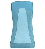 Salewa Pedroc Hybrid Dry - canotta sport di montagna - donna, Blue