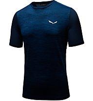 Salewa Pedroc Hybrid - T-shirt trekking - uomo, Blue