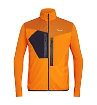 Salewa Pedroc Hybrid PTC Alpha - giacca ibrida trail running - uomo, Orange