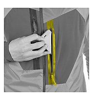 Salewa Pedroc Hybrid PTC Alpha - giacca ibrida trail running - uomo