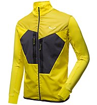 Salewa Pedroc Hybrid PTC Alpha - giacca ibrida trail running - uomo, Yellow