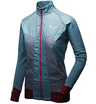 Salewa Pedroc Hybrid PTC Alpha - giacca ibrida - donna, Light Blue