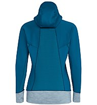 Salewa Pedroc Pgd - Fleecejacke mit Kapuze Bergsport - Damen, Light Blue