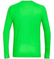 Salewa Pedroc Print Dry - maglia a manica lunga - uomo, Green