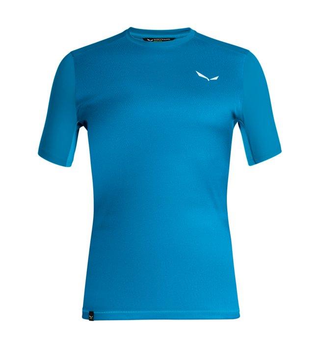 Salewa Pedroc Print Dry - T-Shirt Trekking - Herren, Blue