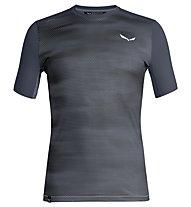 Salewa Pedroc Print Dry - T-shirt trekking - uomo, Dark Blue