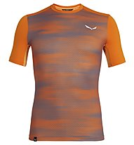 Salewa Pedroc Print Dry - T-shirt trekking - uomo, Orange
